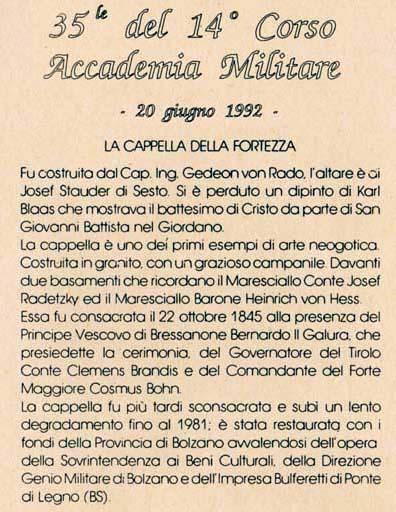 di corso Renato Pagano, si svolto a Colle Isarco, presso il soggiorno ...